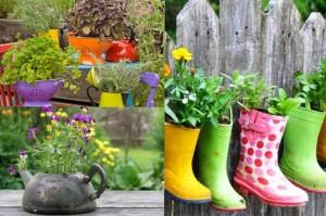 Предметы декора для сада и дачи